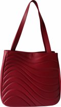 Onde Tote bag - Red Wine