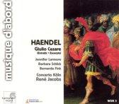 Haendel: Giulio Cesare - Excerpts / Rene Jacobs, Concerto Koln et al