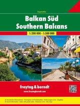 Zuid-Balkan (Servië, Montenegro, Kosovo, Macedonië, Albanië) Wegenatlas F&B
