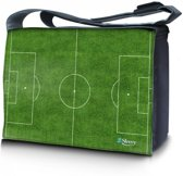 Laptoptas / messenger tas 15,6 voetbalveld - Sleevy