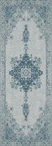 Ruggable - uniek wasbaar vloerkleed - Parisa Blue - 67 x 210 cm