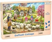 Daffodil Cottage Puzzel 1000 stukjes