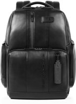 Piquadro Urban Fast Check PC Backpack 15.6'' Black