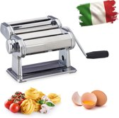 relaxdays pastamachine - pastamaker - pastamolen - lasagne - spaghetti - roestvrij staal