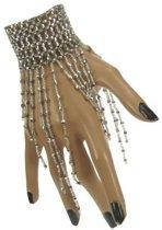 Armband met steentjes Zilver