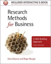 Research Methods for Business 6E