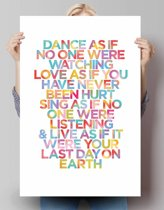 Dance...  - Poster 61 x 91.5 cm