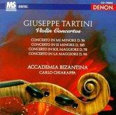 Giuseppe Tartini: Concerto in Mi Minore D. 56; Concerto in Si Minore D. 125; Concerto in Sol Maggiore D. 78