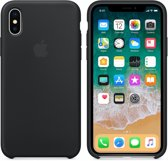 Apple Siliconen Back Cover voor iPhone X/Xs - Zwart