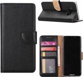 Samsung Galaxy A7 (2018) Portemonnee hoesje / book style case Zwart