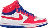 Nike Sneakers Court Force High Dames Wit/rood Maat 37,5