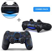 Hex Lightning Combo Pack - PS4 Controller Skins PlayStation Stickers
