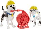 101 Dalmatian Street Dolly & Dad Brandweerkazerne - Speelfiguren