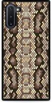 Galaxy Note 10 Hardcase hoesje Snakeskin Pattern