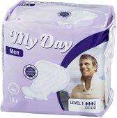 MY DAY MEN ACTIVE compresa incontinencia 14 uds