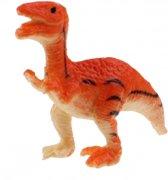 Toi-toys Miniatuur Dinosaurus Oranje 6 Cm