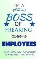 I Am a Proud Boss of Freaking Awesome Employees ...and Yes, My Favorite Gave Me This Book