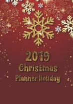 2019 Christmas planner holiday: Preparation for party of chistian day and merry christmas organizer, Gift List, Calendar, Budget Party Planner, Bucket