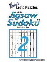 Brainy's Logic Puzzles Easy Jigsaw Sudoku #2