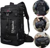Beefree Anti diefstal rugzak| handbagage koffer | handbagage backpack | reistas | rugtas | werktas | laptoptas | schooltas | schoudertas | zwart