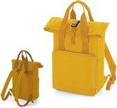 Senvi Rugzak/Backpack Twin/RolTop - Kleur Mosterd - 14 Liter