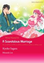 A Scandalous Marriage (Mills & Boon Comics)