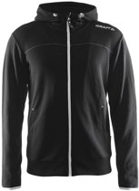 Craft Leisure Full Zip Hood Men black L