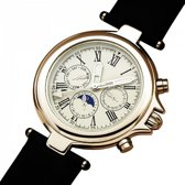 De Vincci Horloge Precisie Kunstleer - Plexiglas