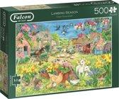 Falcon Lambing season Puzzel 500 XL Stukjes