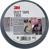 3M 1900 - Duct tape - 50 mm x 50 m - Zwart