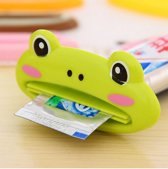 Tube knijper - Tube uitknijper - Tandpasta squeezer - Tubeknijper - Tandpasta dispenser Kikker Cartoon voor kids - 1 stuks