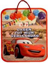 Verjaardag aftelkalender Cars