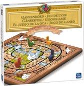 Ganzenbord Bordspel Hout - King Spellen - Met Houten Speelfiguren