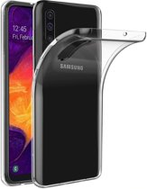 Hoesje Coolskin3T voor Samsung A70 Transparant Wit