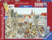 Ravensburger puzzel Fleroux Munchen - legpuzzel - 1000 stukjes
