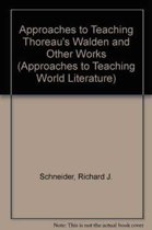 Approaches to Teaching Thoreau's Walden and Other Works