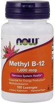 Methyl B-12, 1000 mcg (100 zuigtabletten) - Now Foods