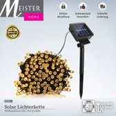 Solar LED 500 stuks Warm wit Buitenverlichting Tuinverlichting Party