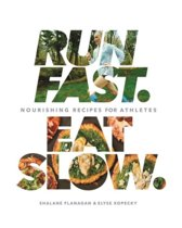 Omslag van 'Run Fast Eat Slow'
