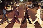 The Beatles  Metalen wandbord in reliëf 20 x 30 cm.
