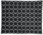 Briljant Baby boxkleed - 80 x 100 cm grid black