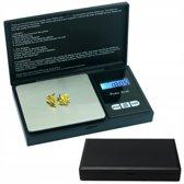 Professionele Digitale Mini Pocket Keuken Precisie Weegschaal - Op Batterij - 0,01 MG tot 500 Gram- Ultra Nauwkeurige Zakweegschaal - LCD Display