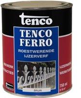 Tenco 406 Tencoferro Roestwerende IJzerverf - 750 ml