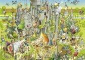 Puzzel Jurassic Habitat 1000 Stukjes Heye 29727