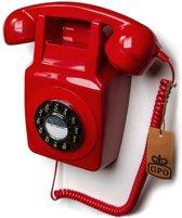 GPO 746 Rode Muurtelefoon jaren '70 design