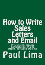 How to Write Sales Letters and Email
