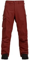 BURTON COVERT PANT INSULATED Sparrow red-L