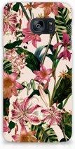 Samsung Galaxy S7 Edge Hardcase Hoesje Flowers