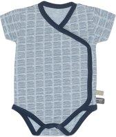 Snoozebaby Jongens Rompertje - blauw - Maat 68