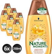 Schwarzkopf  Nature Moments Honey Elixir&Barbary Fig Oil Shampoo - 6 stuks
